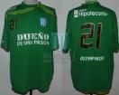 Racing Club - 2010 AP - GK - Olympikus - BH - 12da Fecha vs River Plate - J. De Olivera