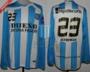 Racing Club - 2010 AP - Home - Olympikus - BH - 5ta vs Colon - B. Lluy