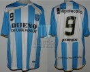 Racing Club - 2010 AP - Home - Olympikus - BH - 10ma Fecha vs Independiente - G. Hauche