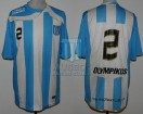 Racing Club - 2010 CL - Home - Olympikus - 3ra Fecha vs Arsenal - R. Ayala