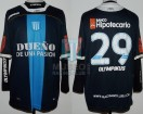 Racing Club - 2011 AP - Away - Olympikus - BH - 4ta Fecha vs Arsenal - T. Gutierrez