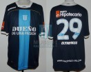 Racing Club - 2011 CL - Away - Olympikus - BH - 6ta Fecha vs Estudiantes LP - T. Gutierrez