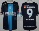Racing Club - 2011 CL - Away - Olympikus - BH - 12da Fecha vs River Plate - G. Hauche
