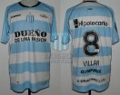 Racing Club - 2012 SUD - Away - Olympikus - BH - Copa Sudamericana Ida vs Colon - D. Villar