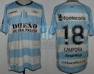 Racing Club - 2012 SUD - Away - Olympikus - BH - Copa Sudamericana Vuelta vs Colon - J. Campora