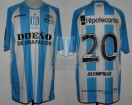 Racing Club - 2012 CL - Home - Olympikus - BH - 15ta Fecha vs Boca Jrs. - V. Viola