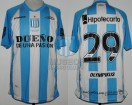 Racing Club - 2012 CL - Home - Olympikus - BH - 10ma Fecha vs Independiente - T. Gutierrez