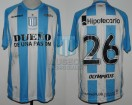 Racing Club - 2012 IN - Home - Olympikus - BH - 3ra Fecha vs Independiente - A. Centurion