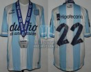 Racing Club - 2014 TR - Home - Topper - BH - CAMPEON - 19na Fecha vs Godoy Cruz - MEDALLA - D. Milito