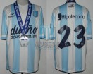 Racing Club - 2014 TR - Home - Topper - BH - CAMPEON - 19na Fecha vs Godoy Cruz - MEDALLA - G. Bou