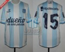 Racing Club - 2014 TR - Home - Topper - BH - CAMPEON - 19na vs Godoy Cruz - E. Videla