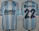 Racing Club - 2014 TR - Home - Topper - BH - CAMPEON - 19na Fecha vs Godoy Cruz - D. Milito