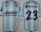Racing Club - 2014 TR - Home - Topper - BH - CAMPEON - 19na Fecha vs Godoy Cruz - G. Bou