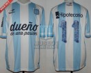 Racing Club - 2014 TR - Home - Topper - BH - 7ma vs Boca Juniors (ISSUE) - L. Aued