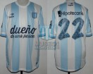 Racing Club - 2014 TR - Home - Topper - BH - 7ma Fecha vs Boca Juniors (ISSUE) - D. Milito