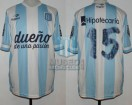 Racing Club - 2014 TR - Home - Topper - BH - 7ma Fecha vs Boca Juniors - E. Videla