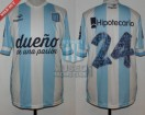 Racing Club - 2014 TR - Home - Topper - BH - 7ma vs Boca Juniors - G. Diaz
