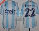Racing Club - 2014 TR - Home - Topper - BH - 11ra vs Estudiantes LP - D. Milito