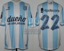 Racing Club - 2014 TR - Home - Topper - BH - 17ma Fecha vs River Plate (ISSUE) - D. Milito