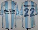 Racing Club - 2014 TR - Home - Topper - BH - 17ma Fecha vs River Plate - D. Milito