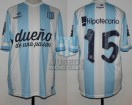 Racing Club - 2014 TR - Home - Topper - BH - 18va Fecha vs Rosario Central - E. Videla