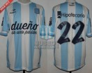 Racing Club - 2014 TR - Home - Topper - BH - 18va vs Rosario Central (PT) - D. Milito