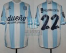 Racing Club - 2014 TR - Home - Topper - BH - 18va Fecha vs Rosario Central (ST) - D. Milito