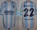 Racing Club - 2014 TR - Home - Topper - BH - 12da Fecha vs Velez Sarsfield - D. Milito