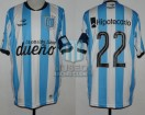Racing Club - 2015 PD - Home - Topper - BH - 10ma Fecha vs Nueva Chicago - D. Milito