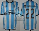 Racing Club - 2015 PD - Home - Topper - BH - 13ra Fecha vs Independiente - D. Milito