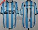 Racing Club - 2015 PD - Home - Topper - BH - 28va vs Boca Juniors - L. Aued