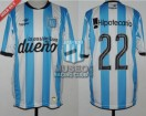 Racing Club - 2015 PD - Home - Topper - BH - 29na vs Crucero del Norte - D. Milito