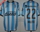 Racing Club - 2015 LIB - Home - Topper - BH - 5ta Fecha Copa Libertadores vs Guarani (PT) - D. MIlito