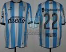 Racing Club - 2015 LIB - Home - Topper - BH - 5ta Copa Libertadores vs Guarani (ST) - D. MIlito