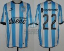 Racing Club - 2015 PD - Home - Topper - BH - 7ma vs San Martin SJ - D. Milito
