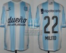 Racing Club - 2015 AM - Home - Topper - BH - Duelo de Campeones / FN 2014 - D. Milito