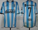 Racing Club - 2015 LIB - Home - Topper - BH - R8 VTA Copa Libertadores vs Guarani - G. Bou