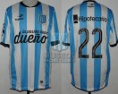 Racing Club - 2015 CA - Home - Topper - BH - SF Copa Argentina vs Rosario Central - D. Milito