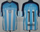 Racing Club - 2015 AM - Home - Topper - Duelo de Campeones / AP 2001 - D. MIlito