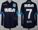 Racing Club - 2016/17 - Away - Kappa - RCA/BC - 24ta Fecha vs Independiente - G. Bou