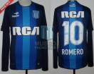 Racing Club - 2016/17 - Away - Topper - RCA/BC - 1ra Fecha vs Talleres Cba. - O. Romero