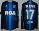 Racing Club - 2016/17 - Away - Topper - RCA/BC - 1ra Fecha vs Talleres Cba. - M. Acuña