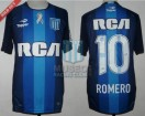 Racing Club - 2016/17 - Away - Topper - RCA/BC - 7ma Fecha vs Arsenal - O. Romero