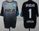 Racing Club - 2016/17 - GK Negro - Kappa - RCA/BC - 25ta Fecha vs Rosario Central - A. Orion