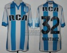 Racing Club - 2016/17 - Home - Kappa - RCA/BC - 19na Fecha vs Tigre - L. Martinez