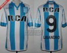 Racing Club - 2016/17 - Home - Kappa - RCA/BC - 28va Fecha vs River Plate - L. Lopez