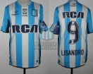 Racing Club - 2016/17 - Home - Topper - RCA/BC - Parche ACF - 11ra Fecha vs Independiente - L. Lopez