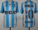 Racing Club - 2016/17 - Home - Topper - RCA/BC - Parche RS - 5ta Fecha vs Patronato - O. Romero