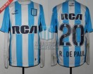 Racing Club - 2016 TR - Home - Topper - RCA/BC - 13ra Fecha vs Huracan - R. De Paul