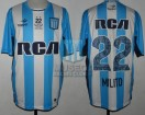 Racing Club - 2016 TR - Home - Topper - RCA/BC - 16ta Fecha vs Temperley - D. Milito
